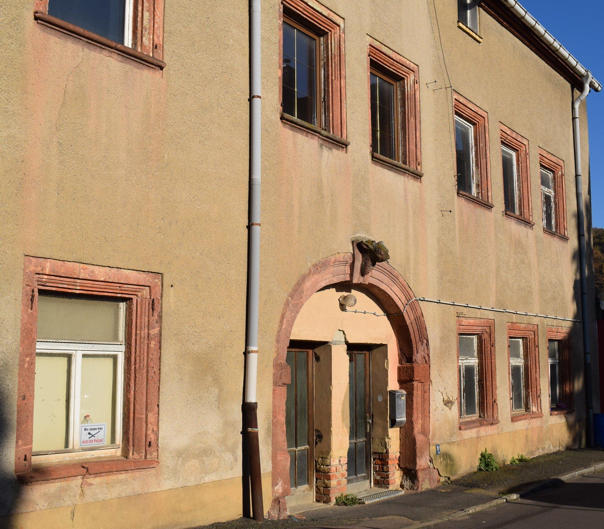 das Gebäude der ehemaligen Oberforstmeisterei im Forsthof