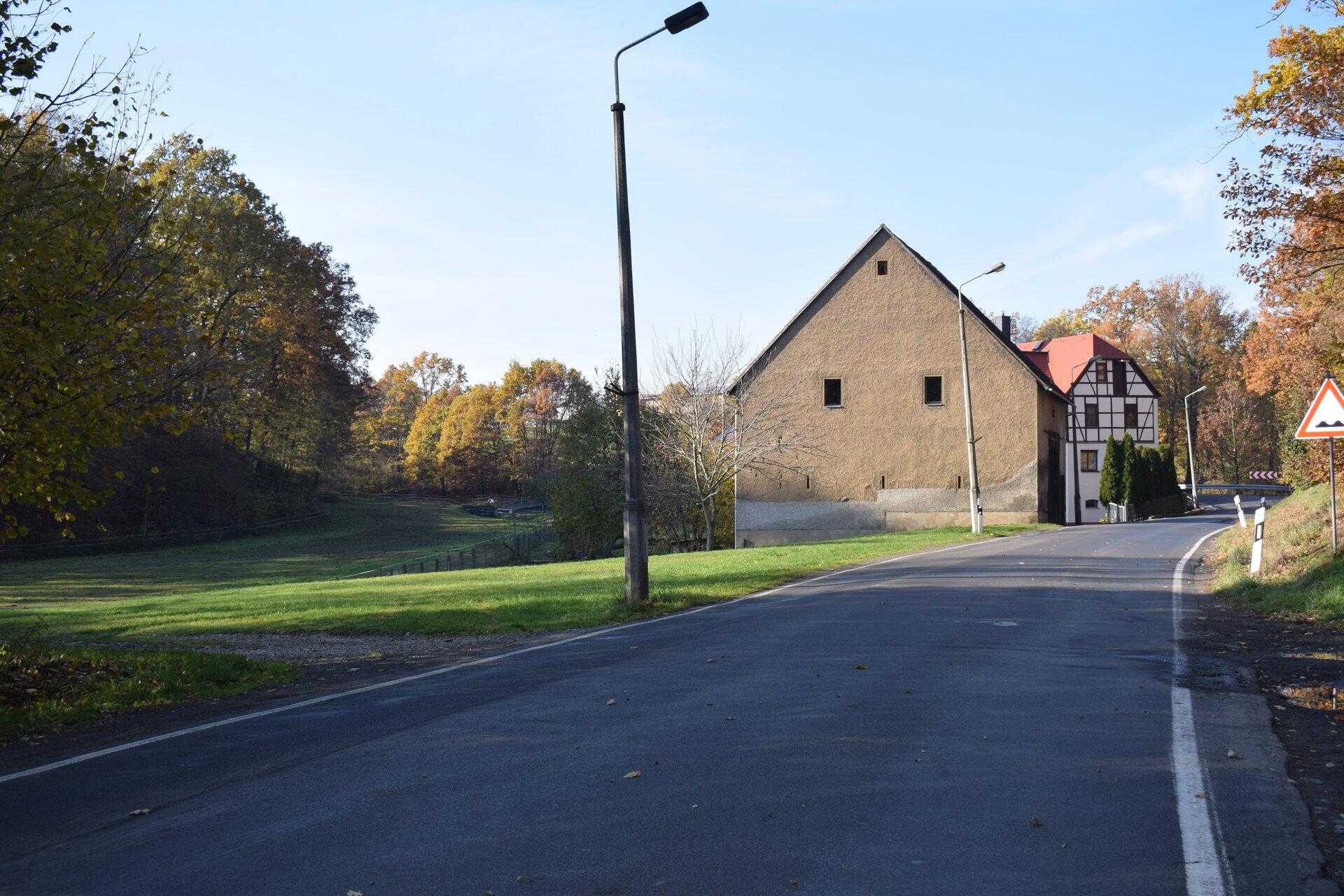 Richtung Hohnbach am Teichha