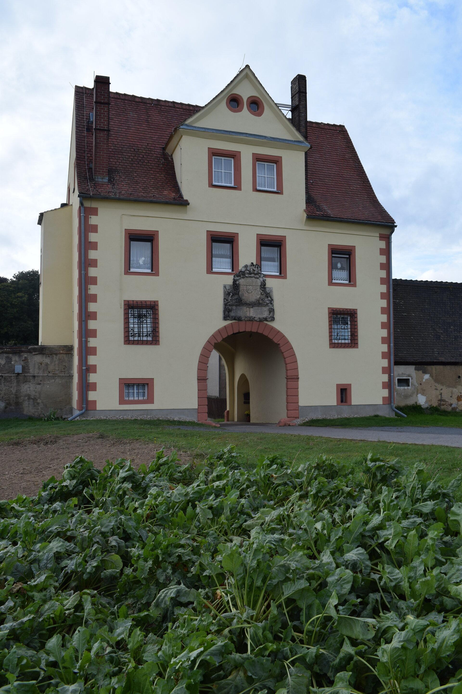 Zschirlaer Tiergartentorhaus