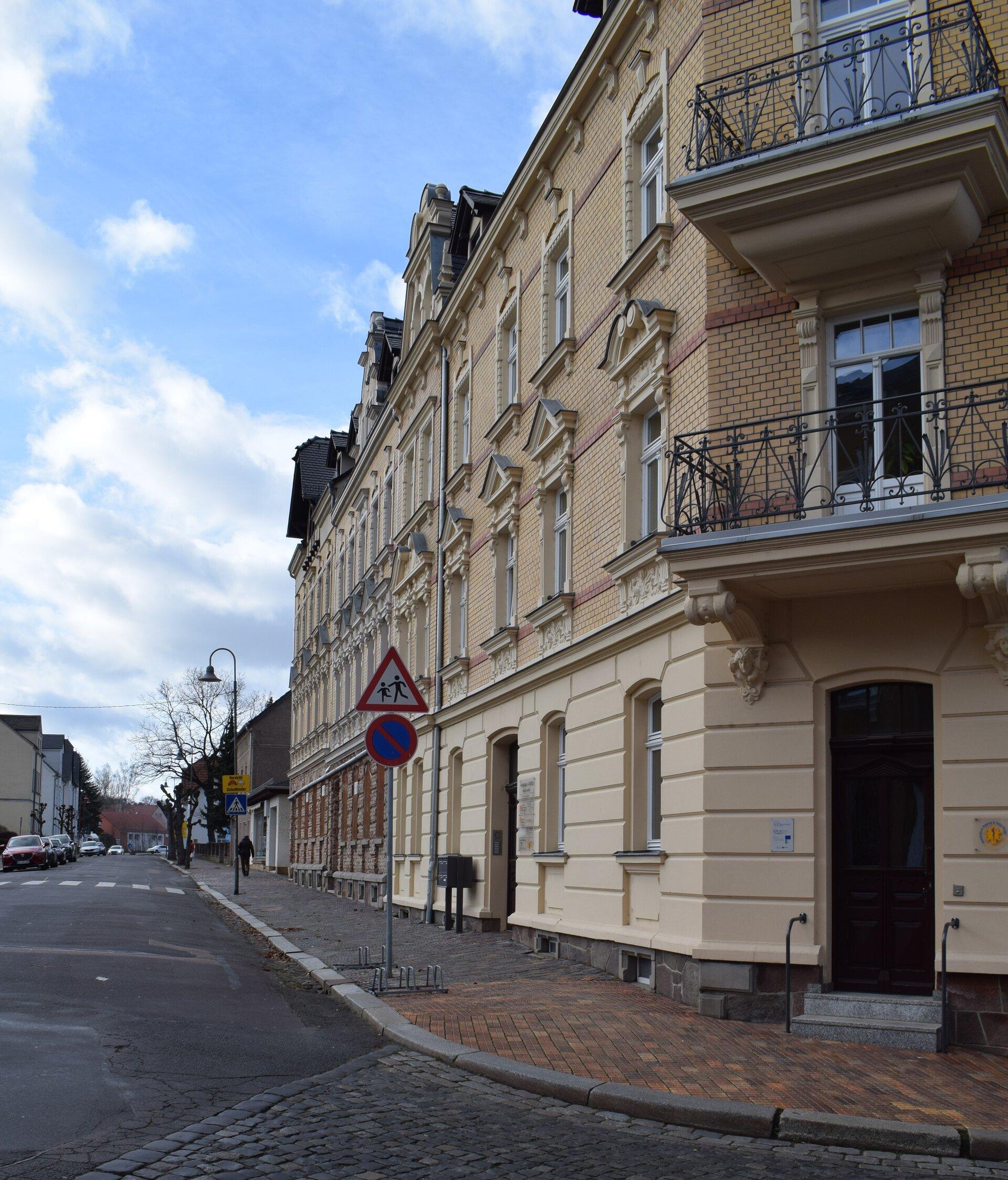 das Ärztehaus in der Nicolaistraße 2