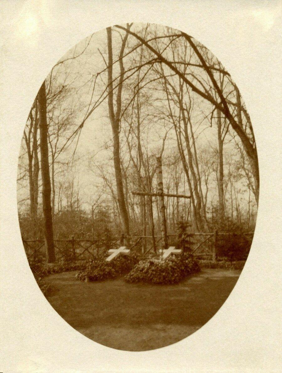 Begräbnisplatz ca. 1925