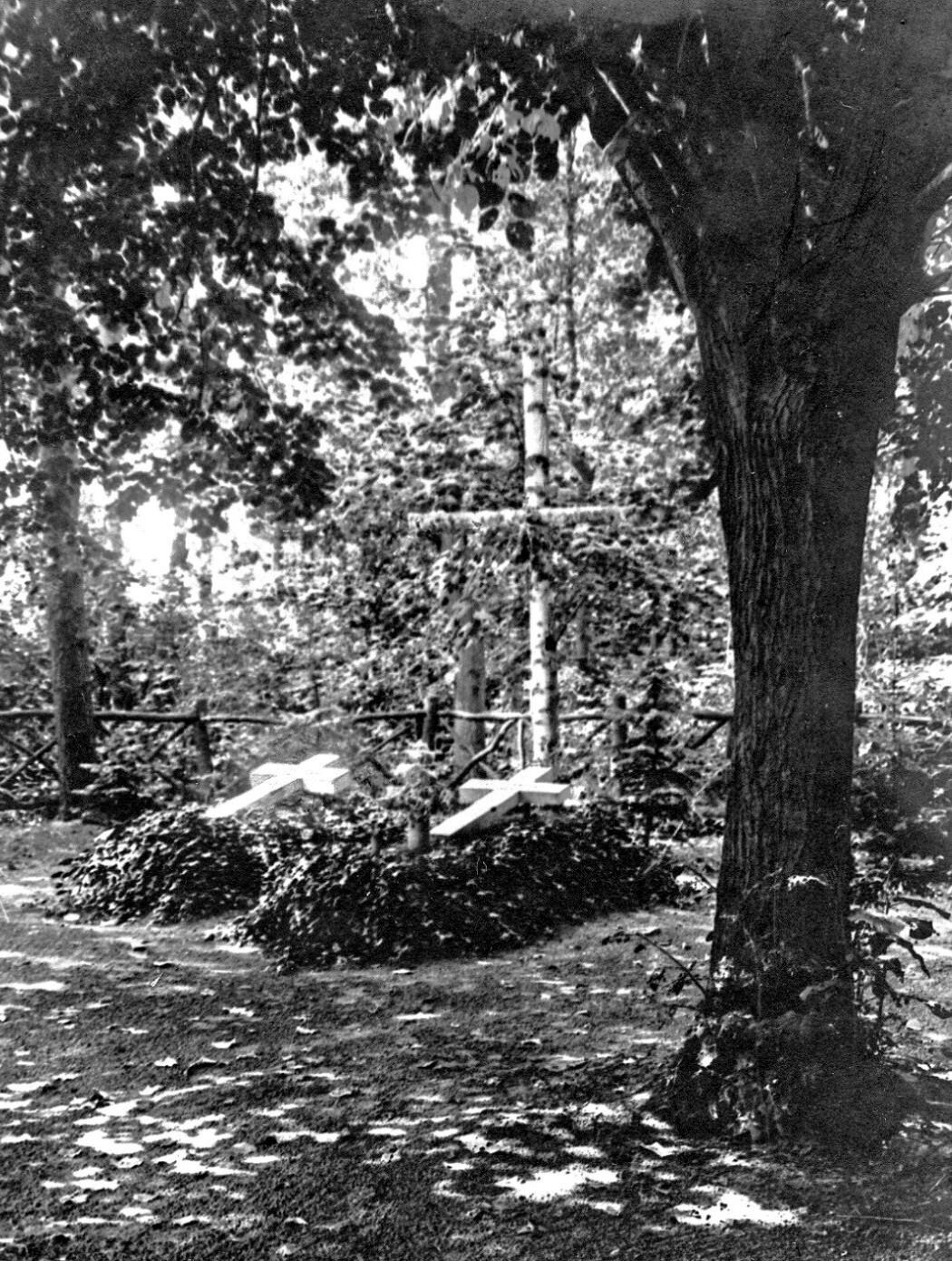 Begräbnisplatz ca. 1930