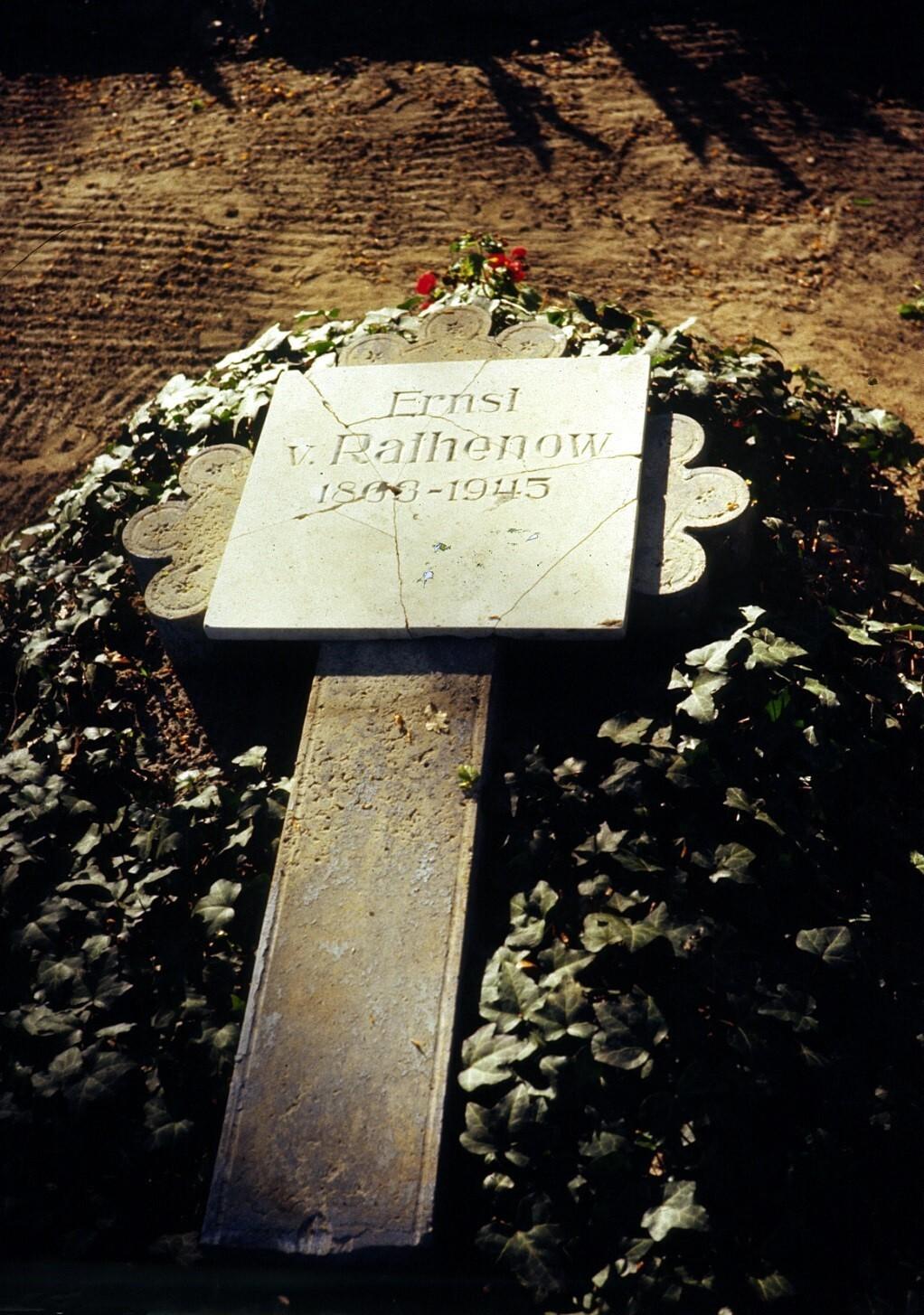 Steinplatte 1980