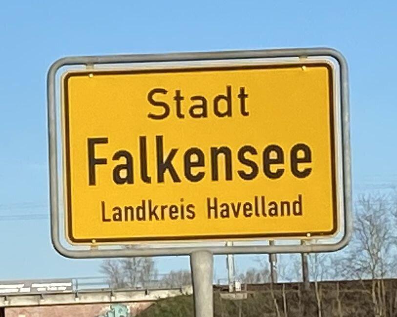 Falkensee ist die größte Stadt im Landkreis Havelland.