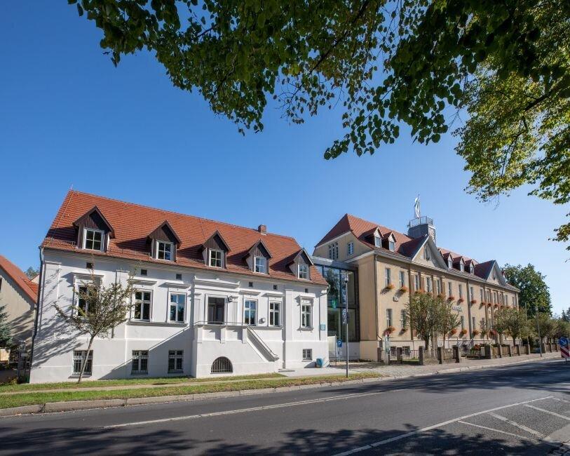 Ein Teil des Falkenseer Rathauses wurde 2018 100 Jahre alt.