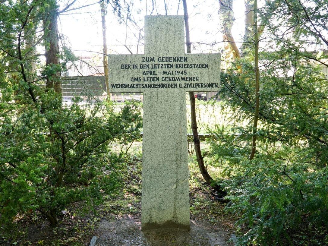 Ehrenfriedhof für die im Zweiten Weltkrieg Gefallenen