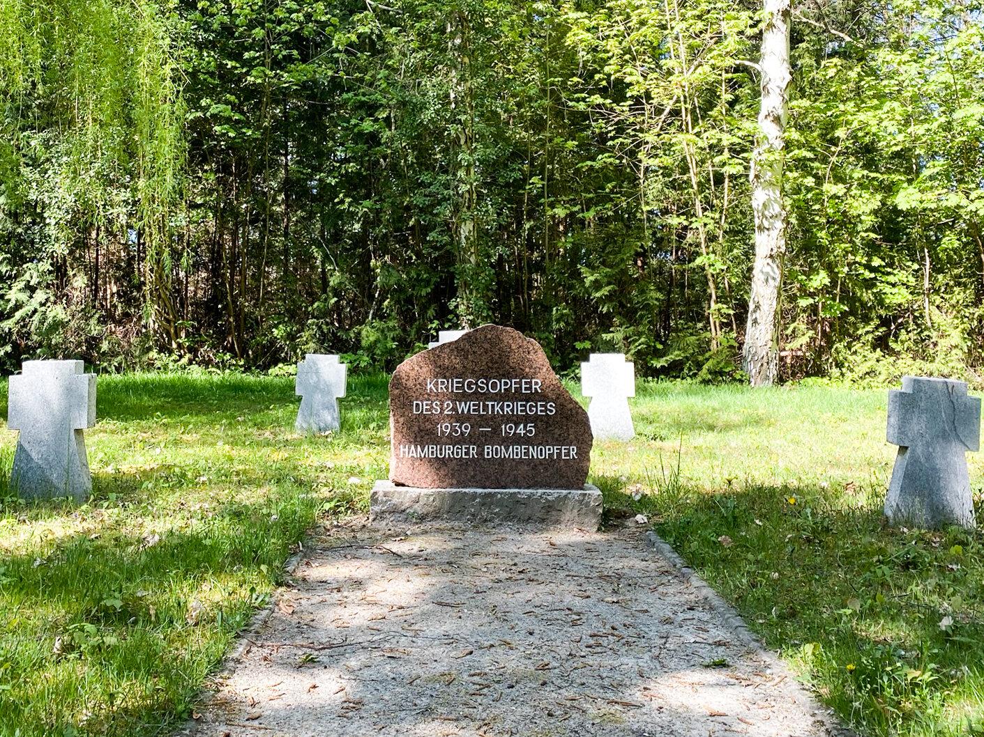 Ehrenfriedhof für die Hamburger Bombenopfer