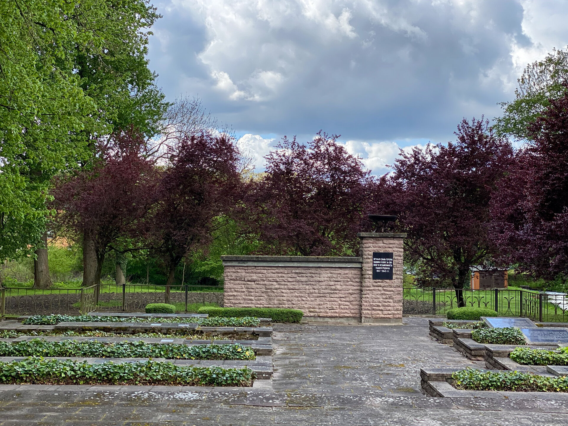 Russischer Ehrenfriedhof für die im Zweiten Weltkrieg gefallenen Soldaten