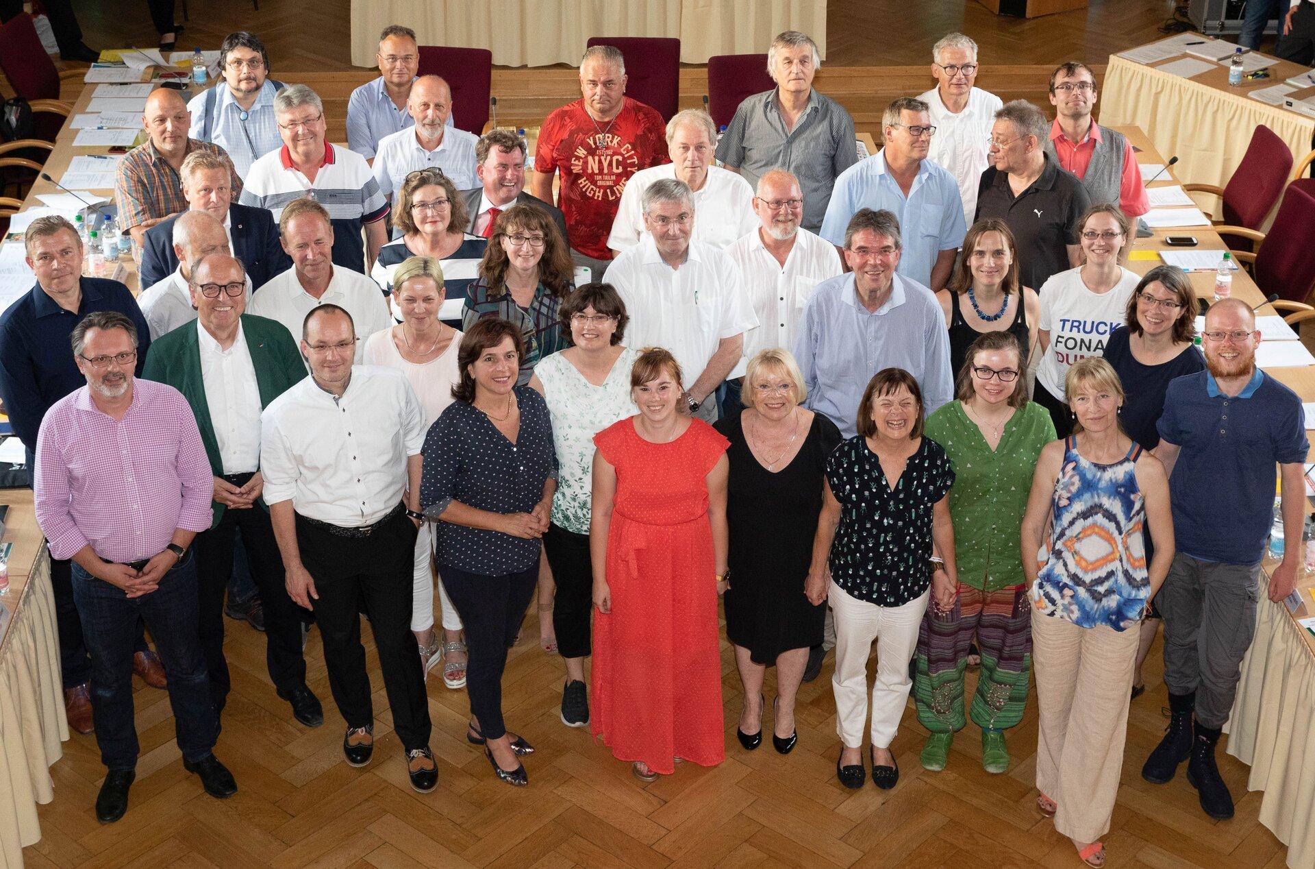 Mitglieder der SVV