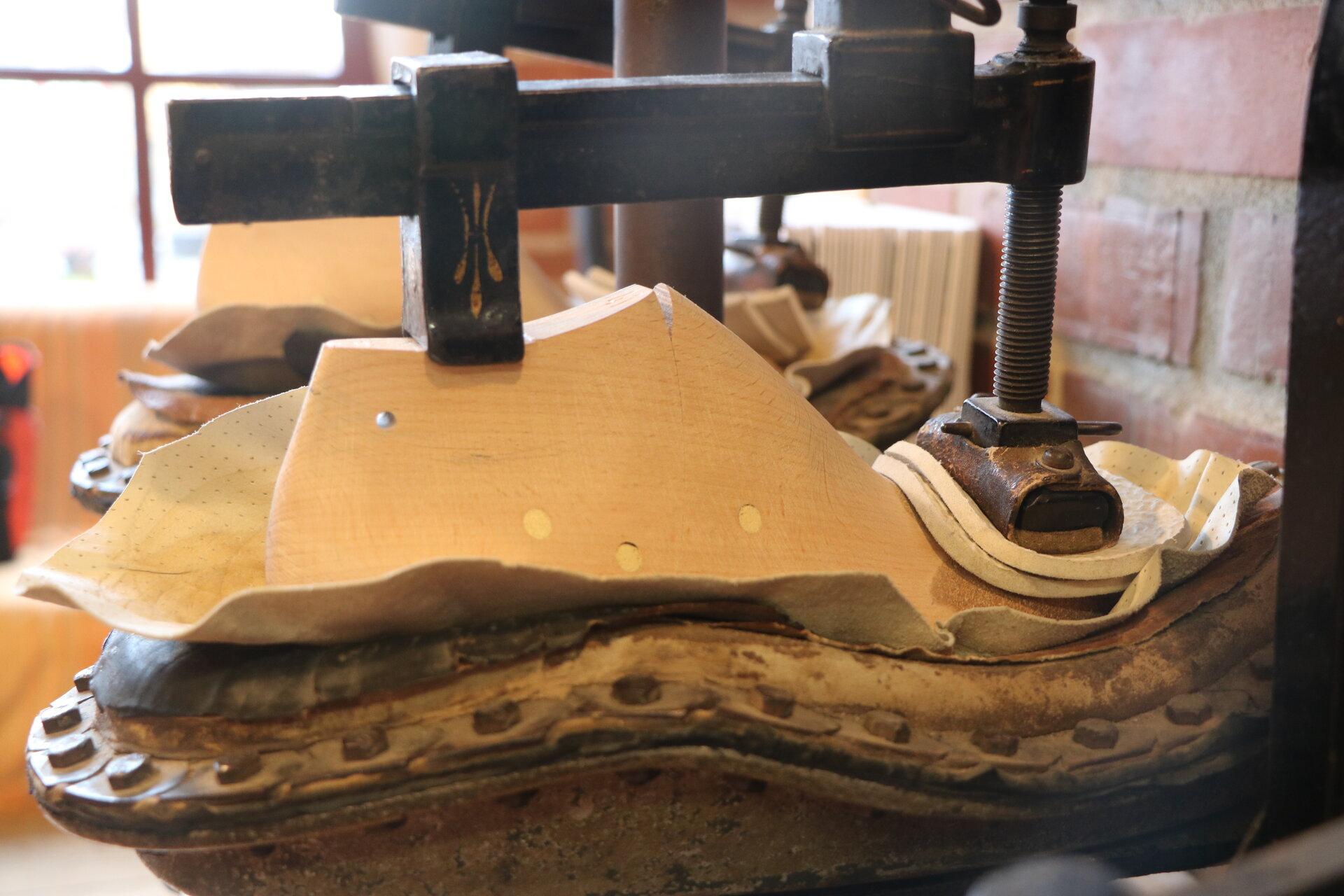 Schuhpresse