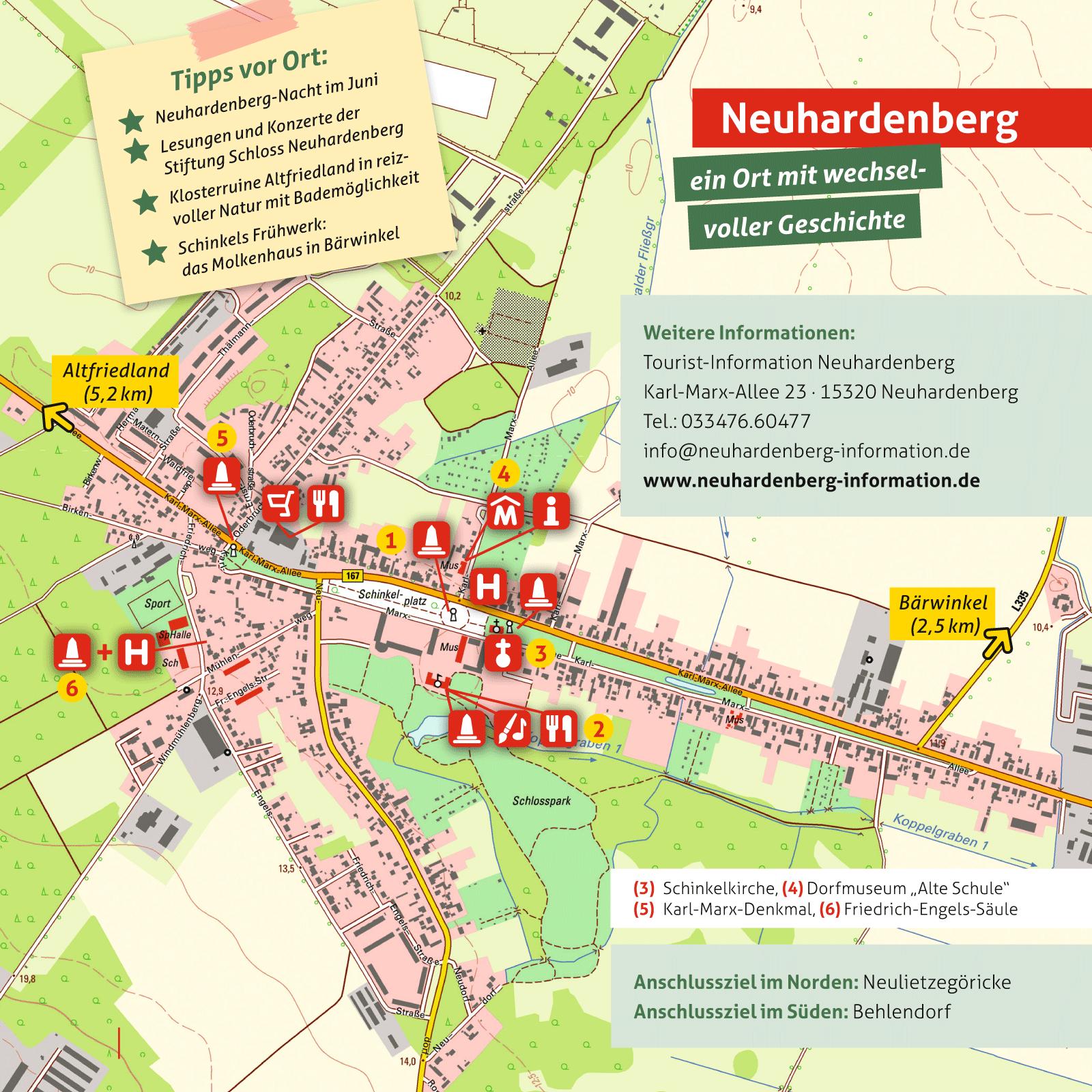 Ausflüge in Neuhardenberg