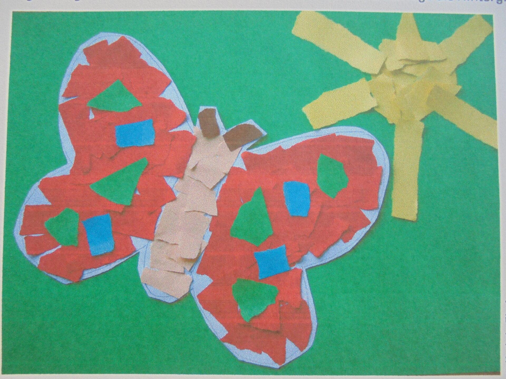 Schmetterling Schnipsel