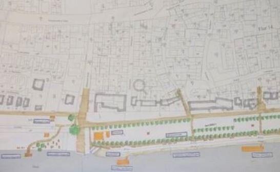 Dieses Bild zeigt den Flächenplan Mainufer vom 14.07.2017