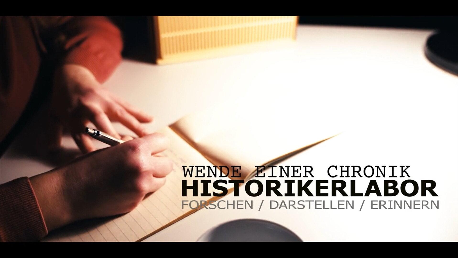 """Trailer zu """"Wende einer Chronik"""""""