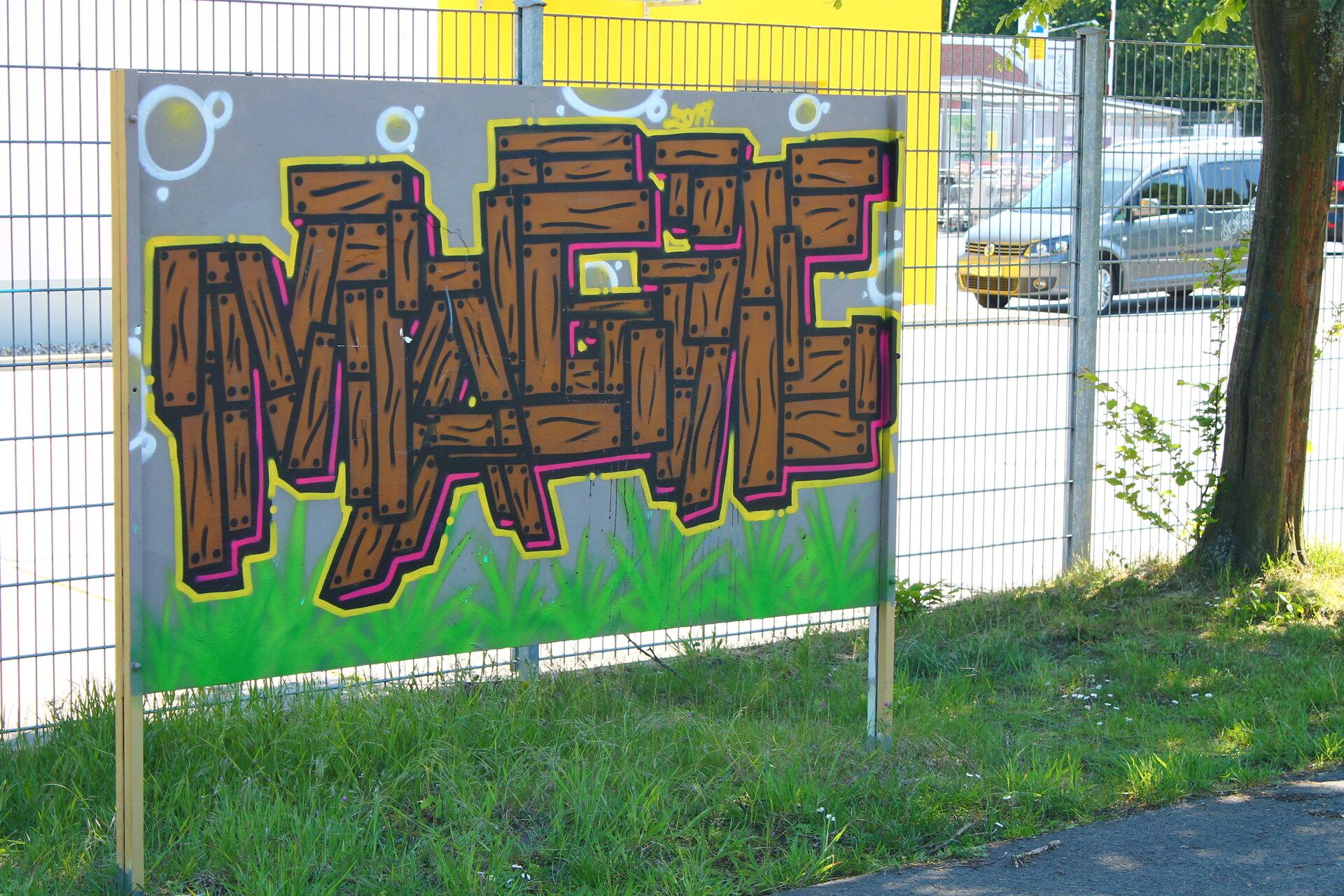 Graffittiwand