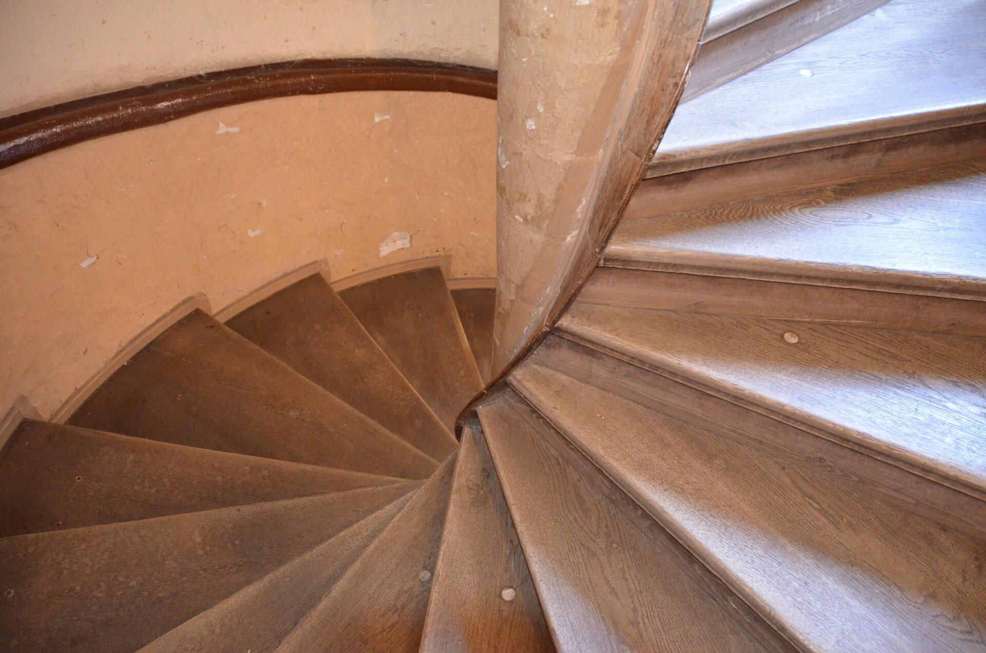 Wendeltreppe im Turm