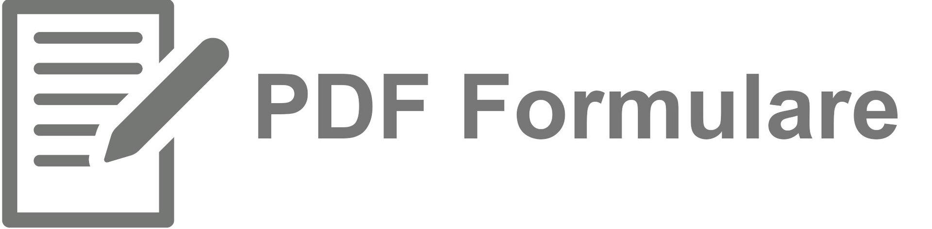 PDF Formulare