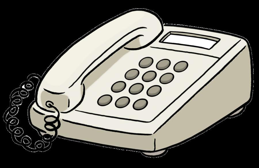 Bild zeigt ein Telefon