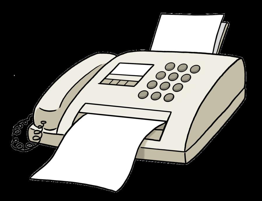 Bild zeigt ein Fax-Gerät