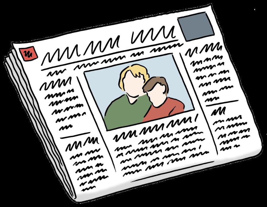Bild zeigt eine Zeitung