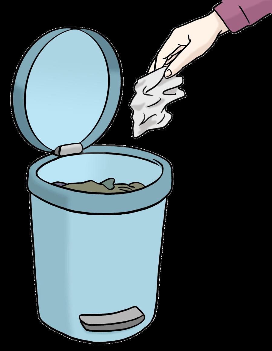 Bild zeigt einen Müll-Eimer