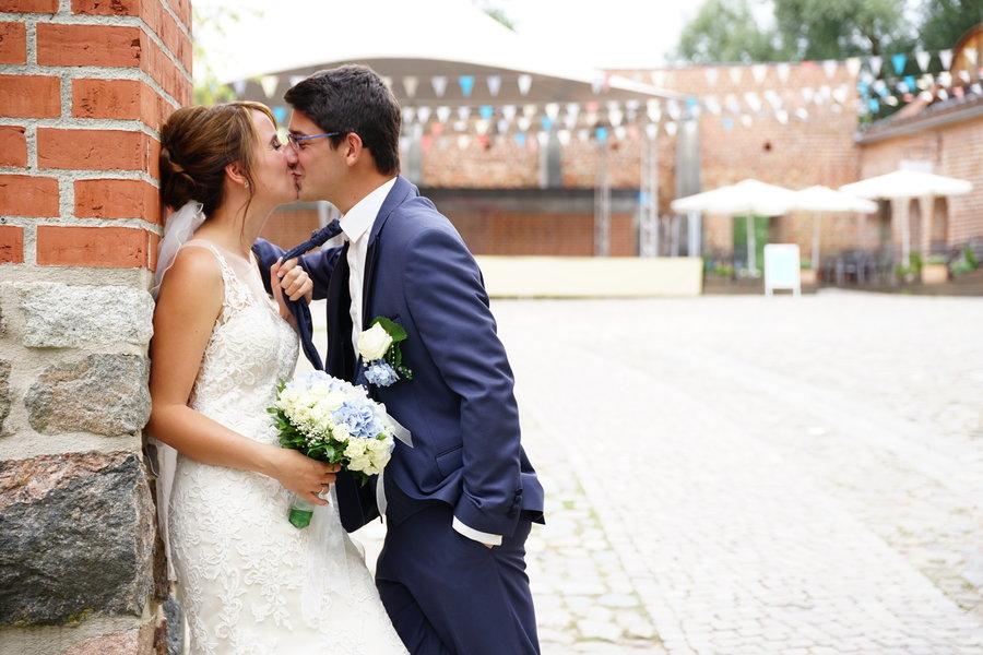 Hochzeitansicht Burghof