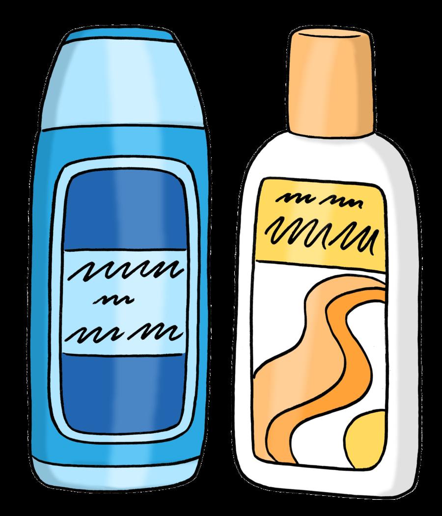 Bild zeigt zwei Dusch-Gel-Verpackungen
