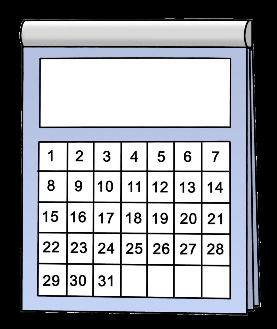 Bild zeigt einen Kalender