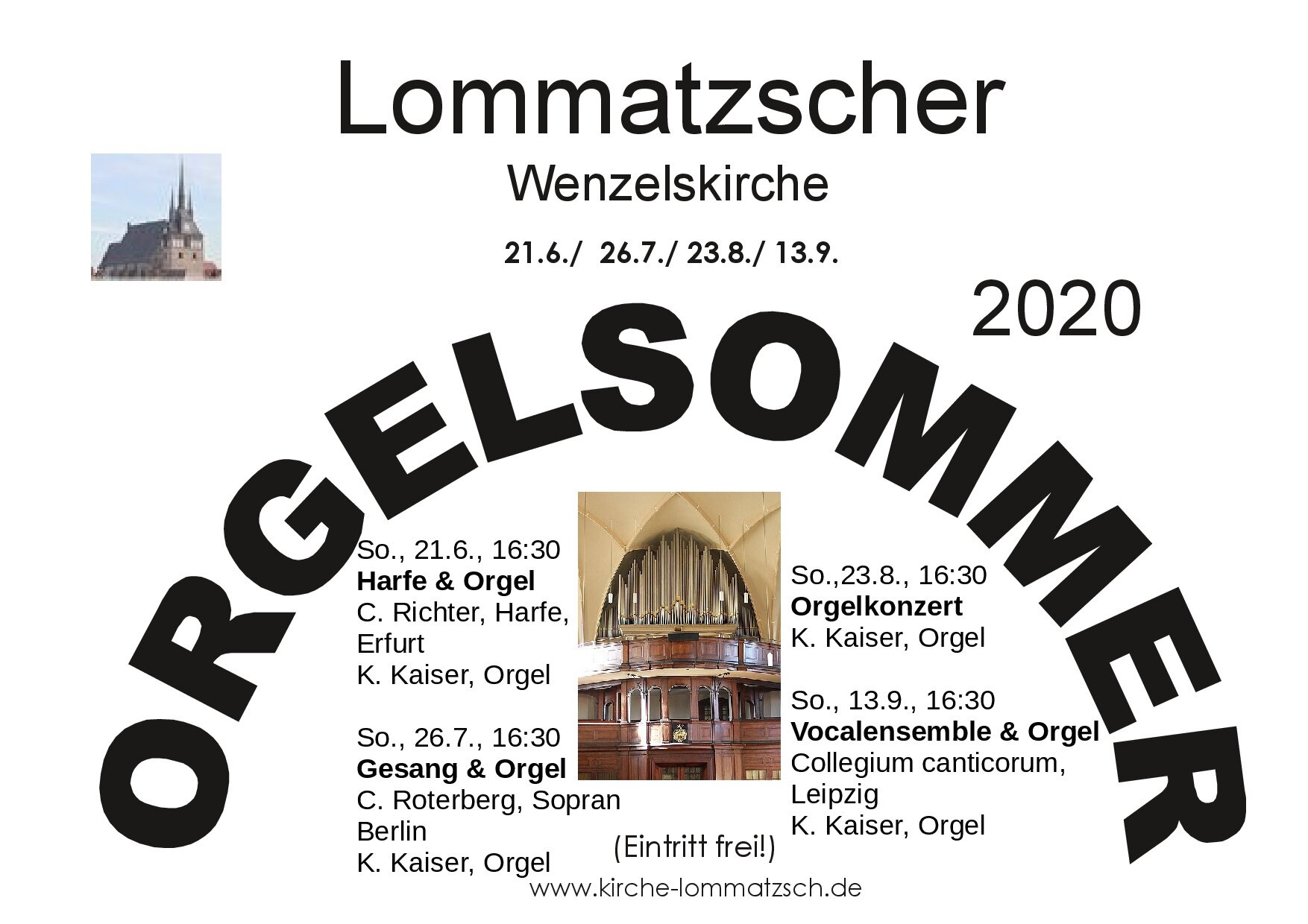 Orgelsommer Lommatzsch