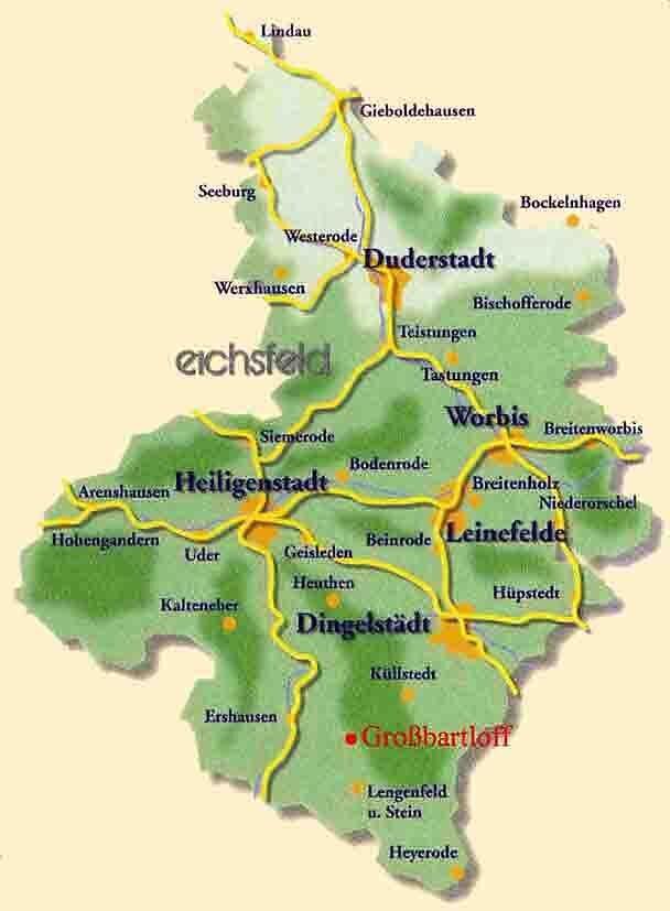 Eichsfeldübersicht