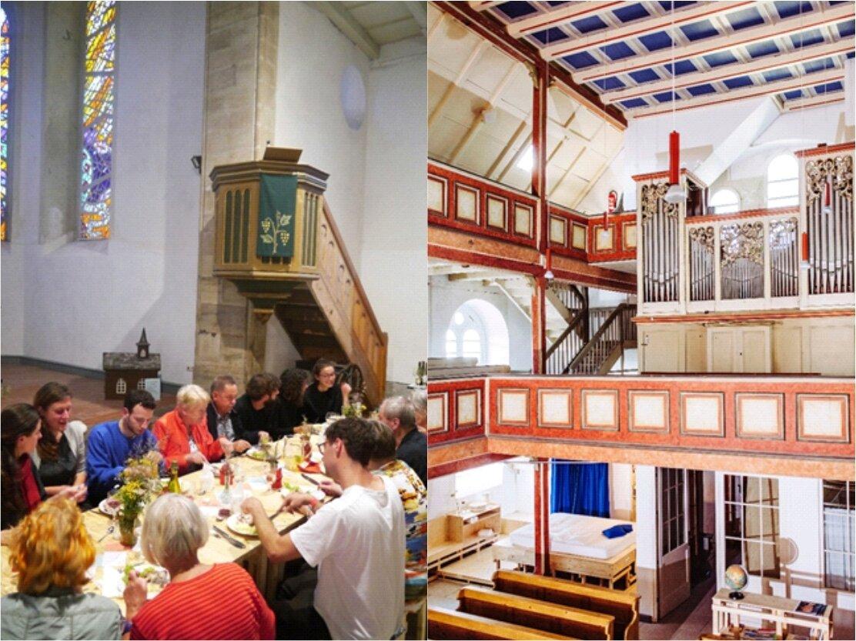Her(r)bergskirche und offene Rennsteigkirche in Neustadt a. Rstg.