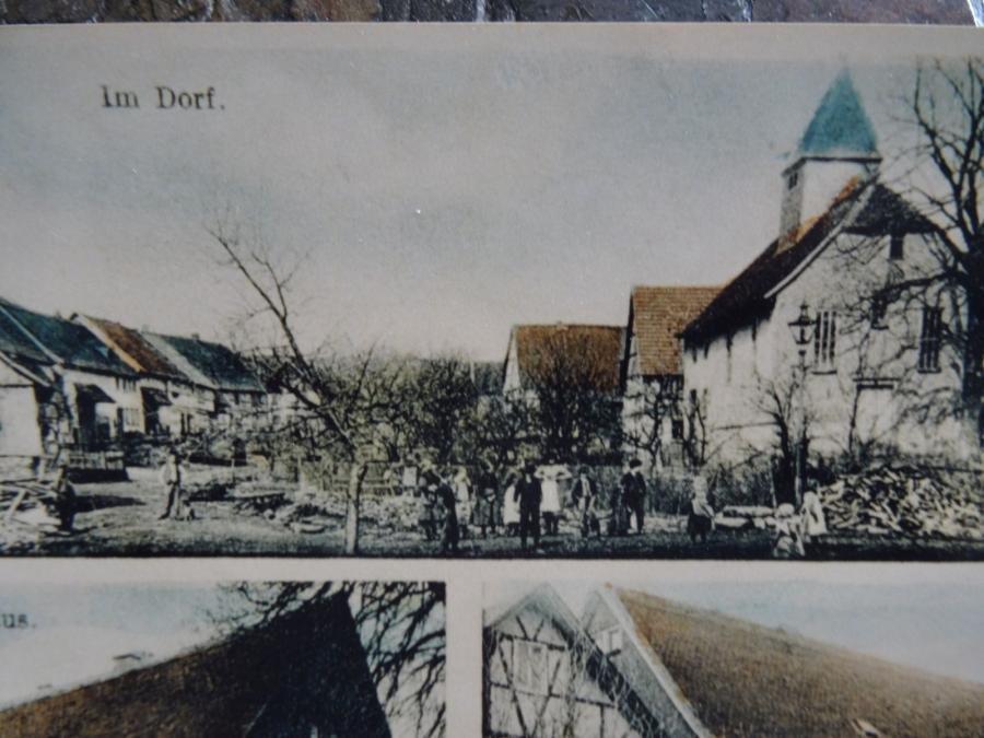 Postkarte von Götzen