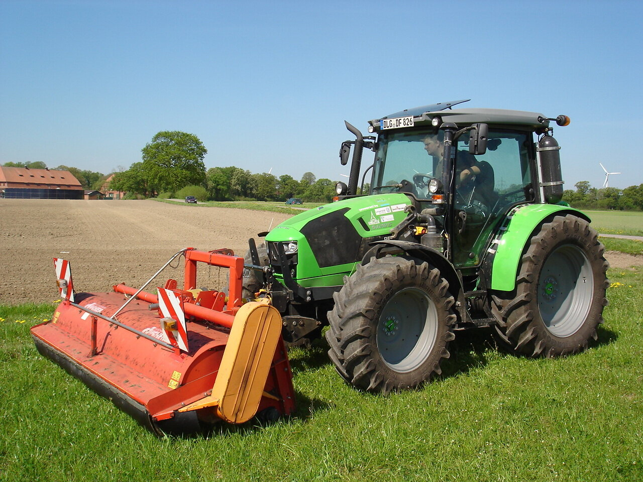 Traktor Wasserstoff