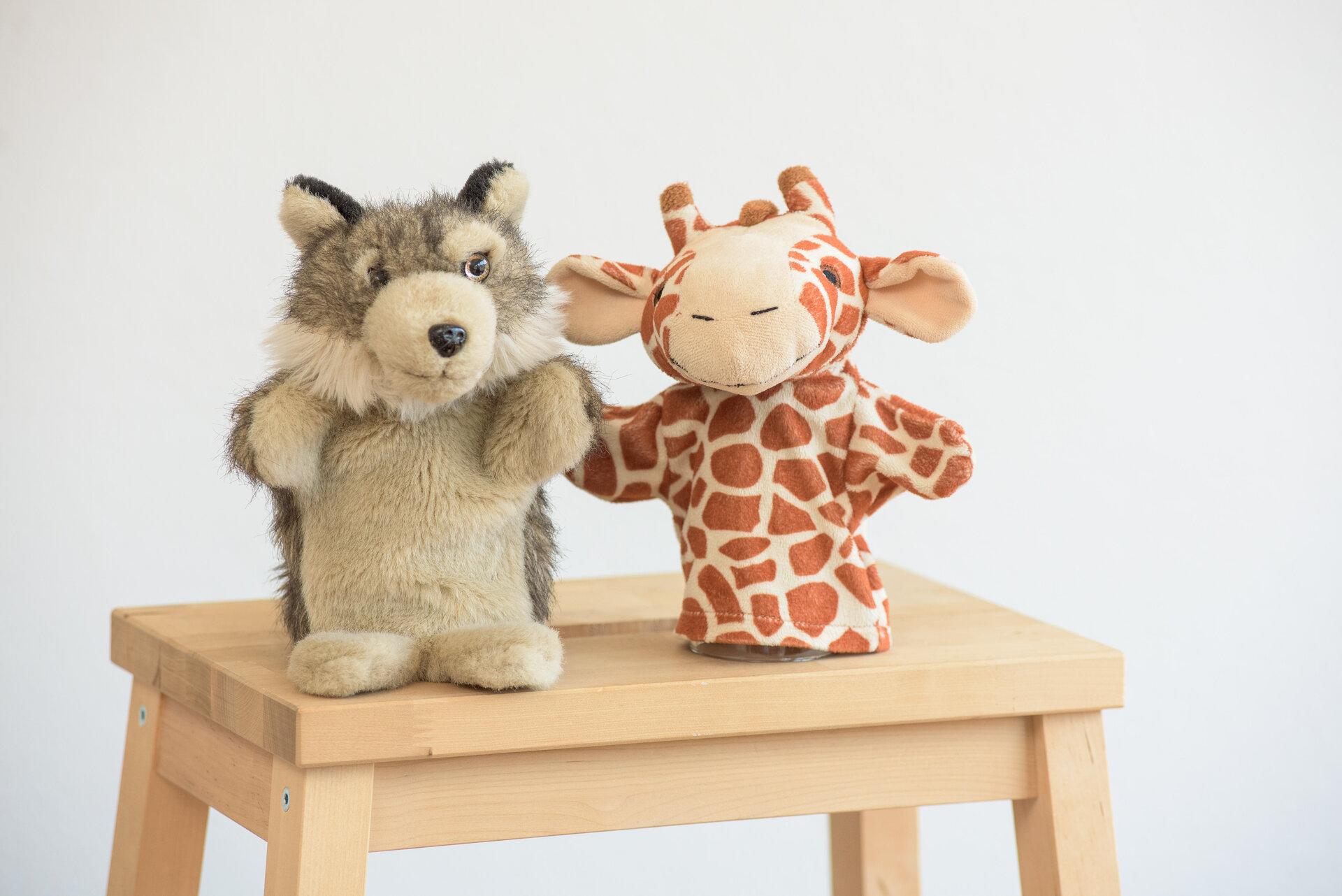 Die Giraffe & der Wolf