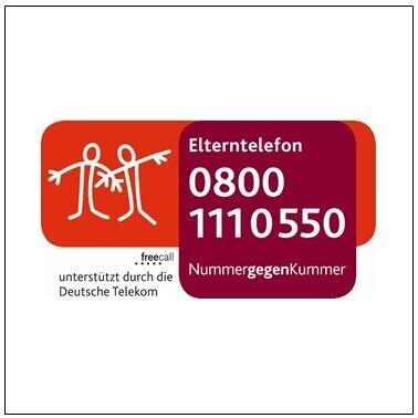 """Externer Link zur Homepage """"Nummer gegen Kummer"""""""