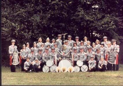 Der Gilde-Spielmannszug im Jahre 1986