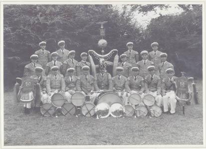 Der Gilde-Spielmannszug im Jahre 1965
