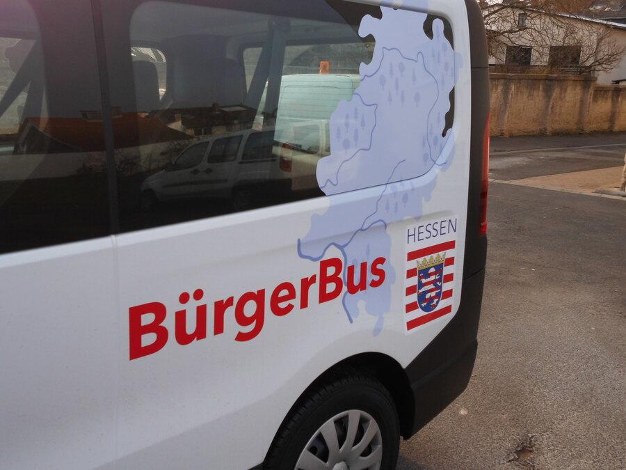 Bürgerbus der Gemeinde Wehretal