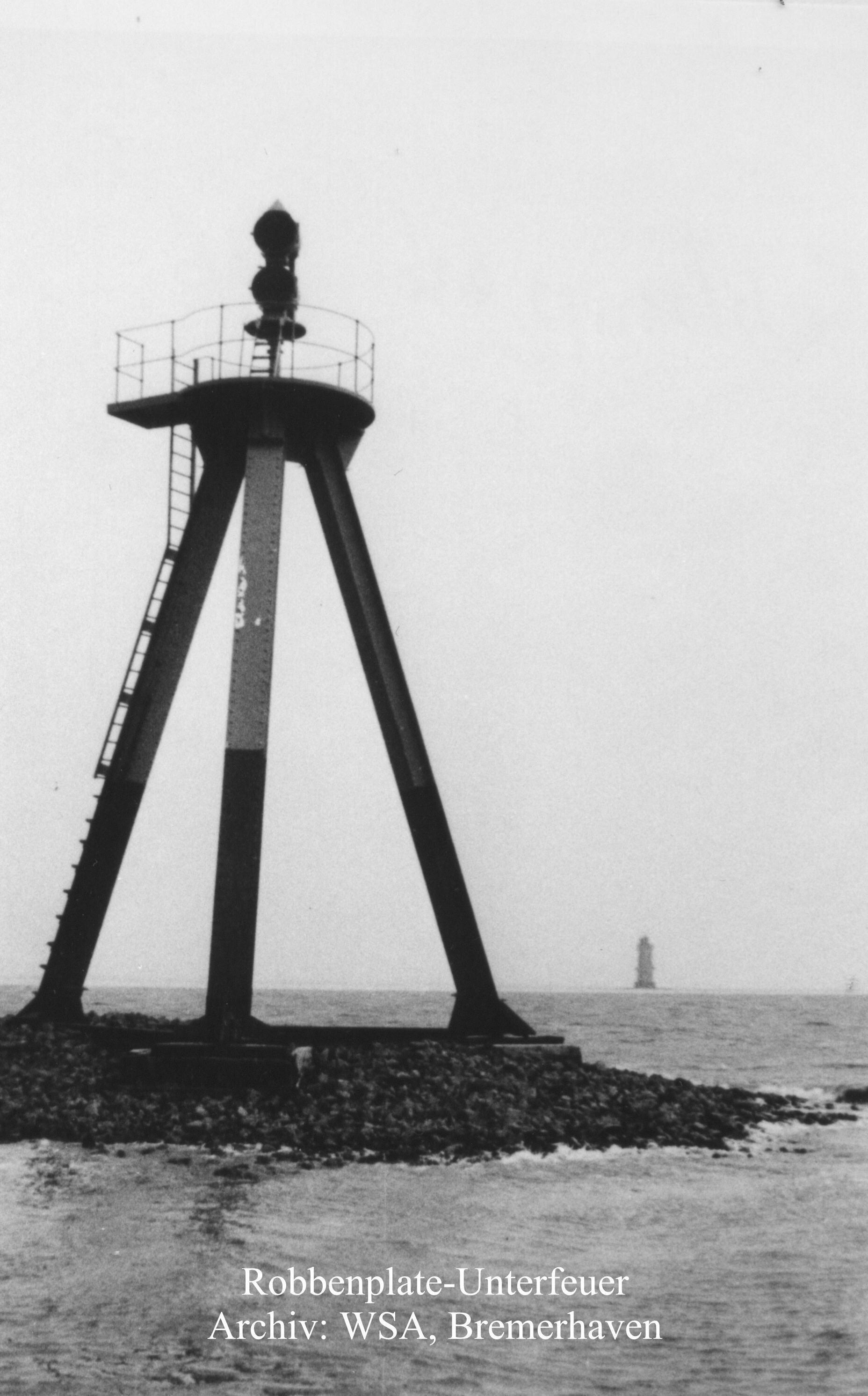 Robbenplate Unterfeuer 1931