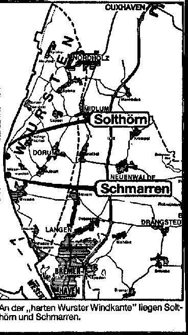 Solthörn Karte