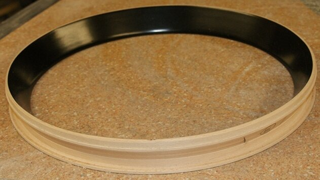 The funnel shaped compressor tuning rim