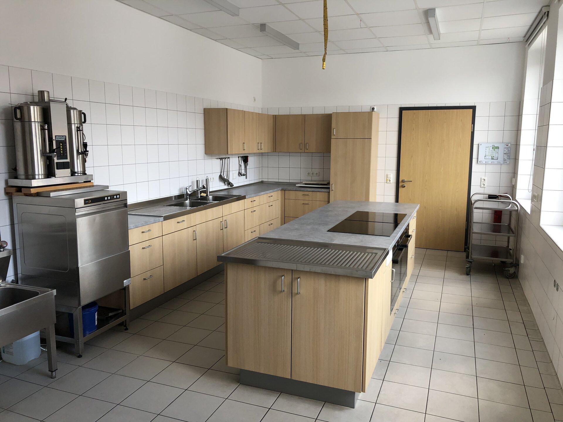 Küche im rückwärtigen Bereich der Küche
