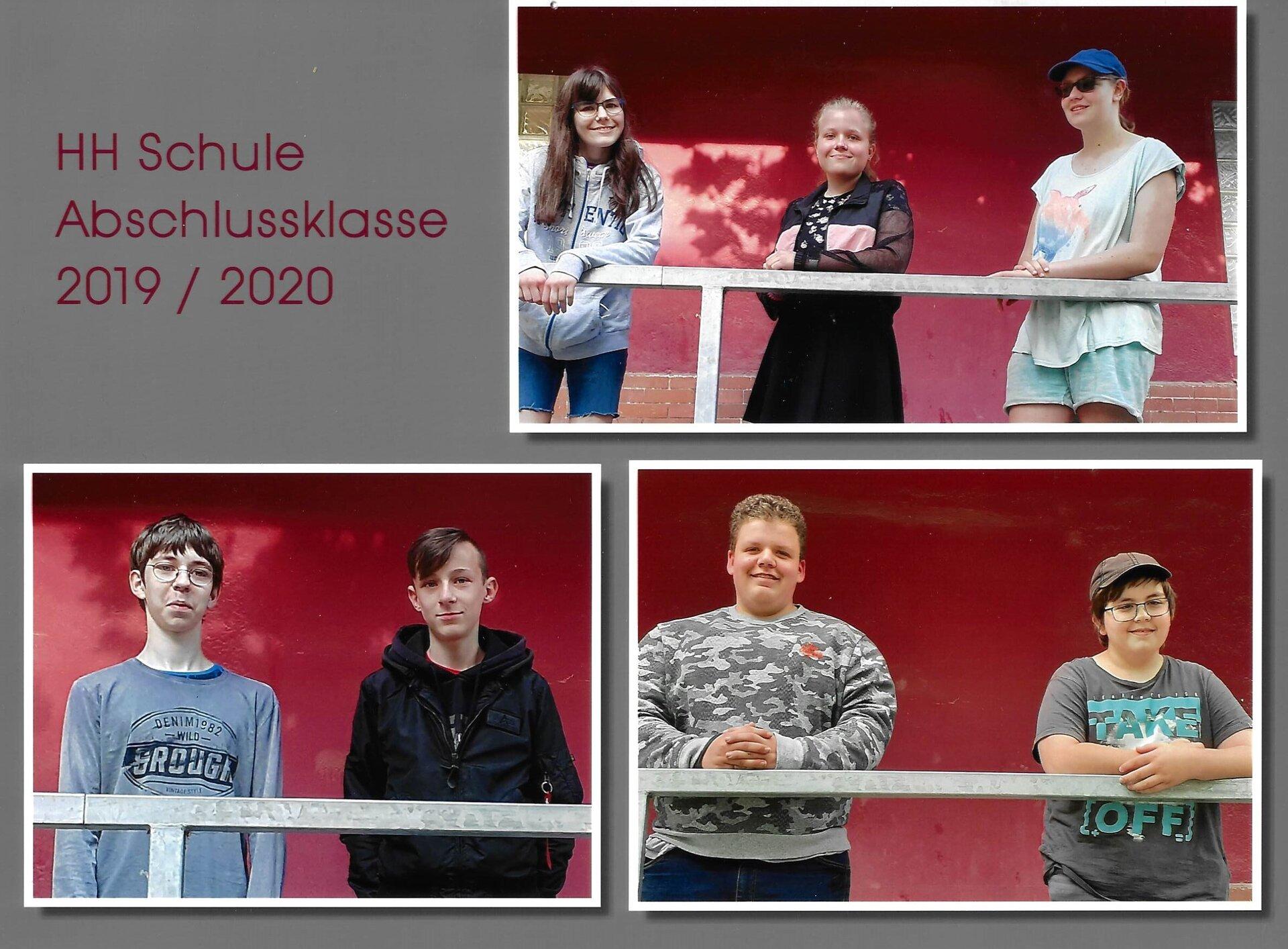 Abschlussschüler 2020