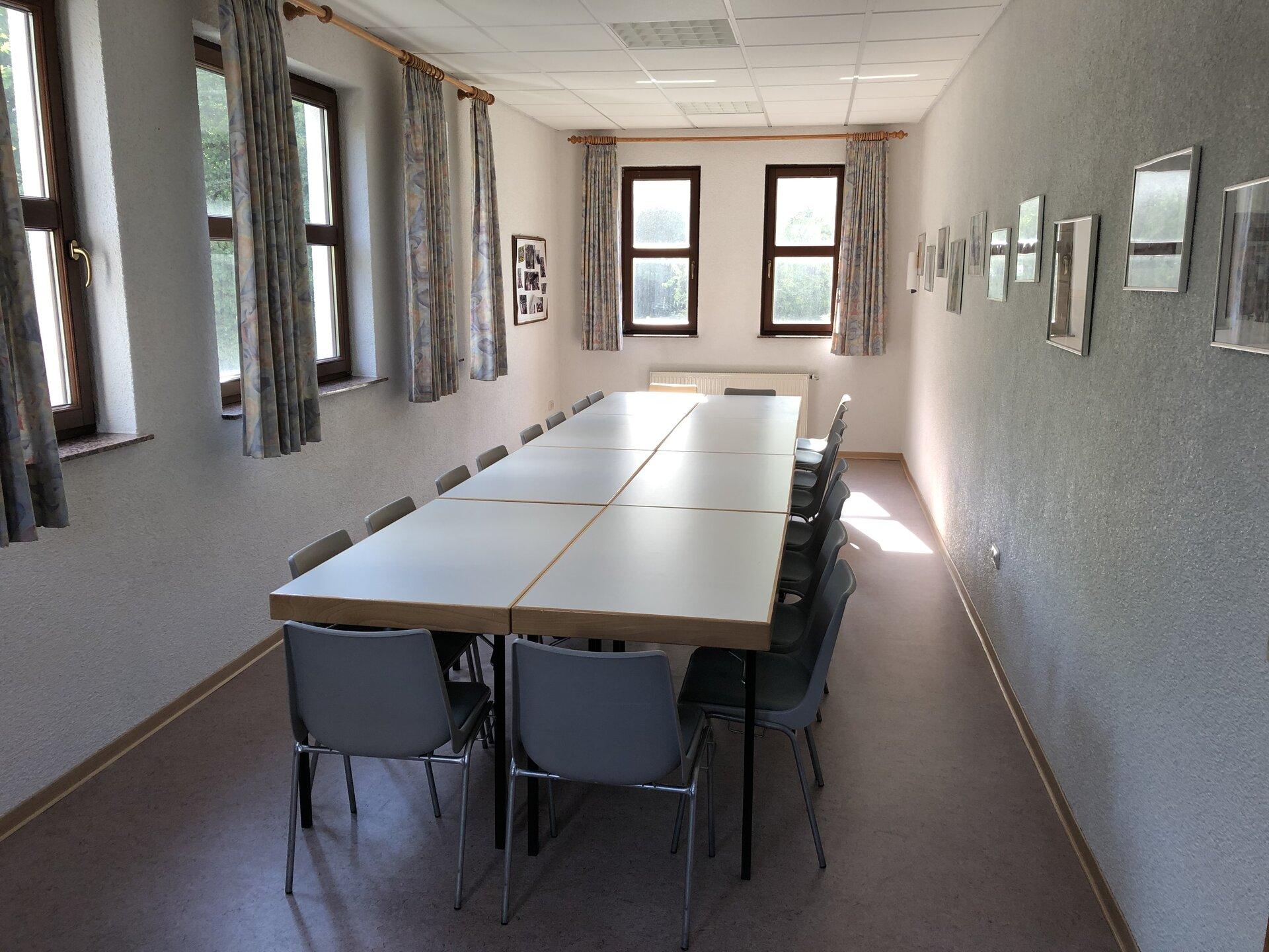 Blick in das Vereinszimmer
