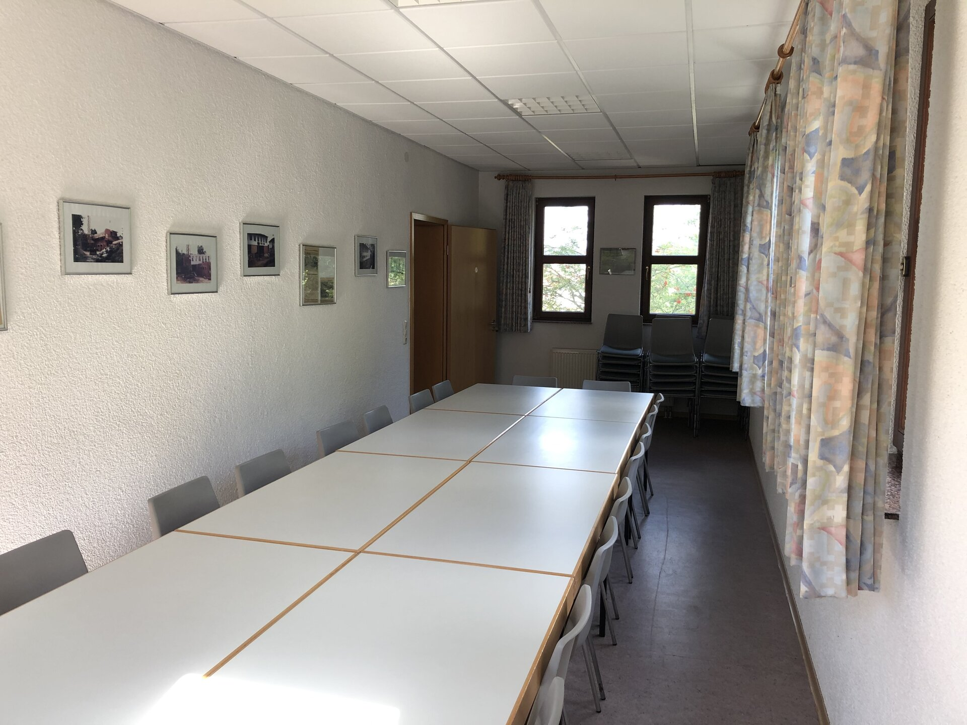 Blick in das Vereinszimmer 2