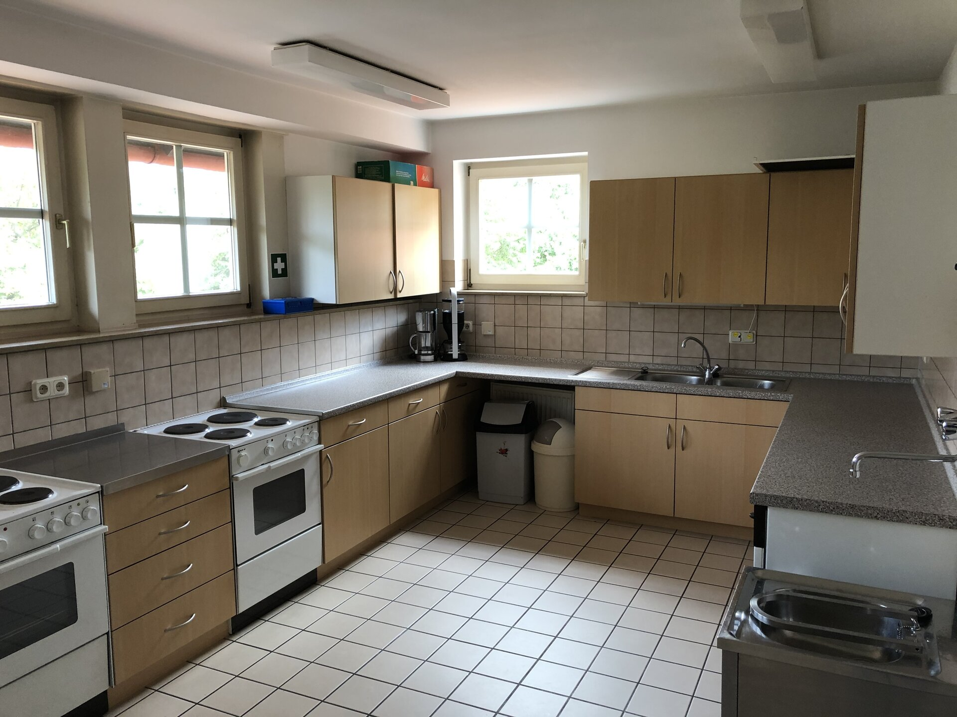 Blick in die Küche 1
