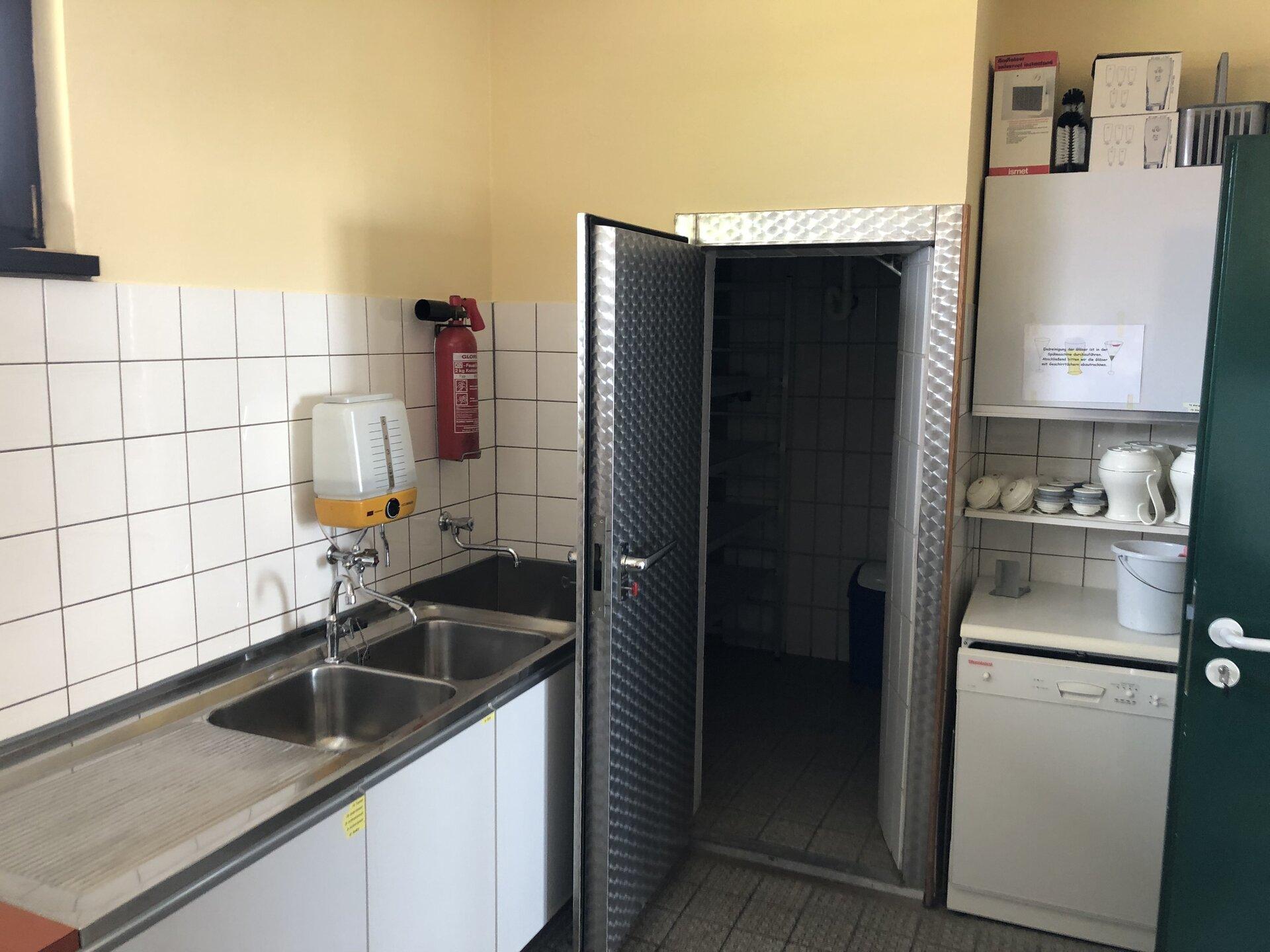 Blick in die Küche 2