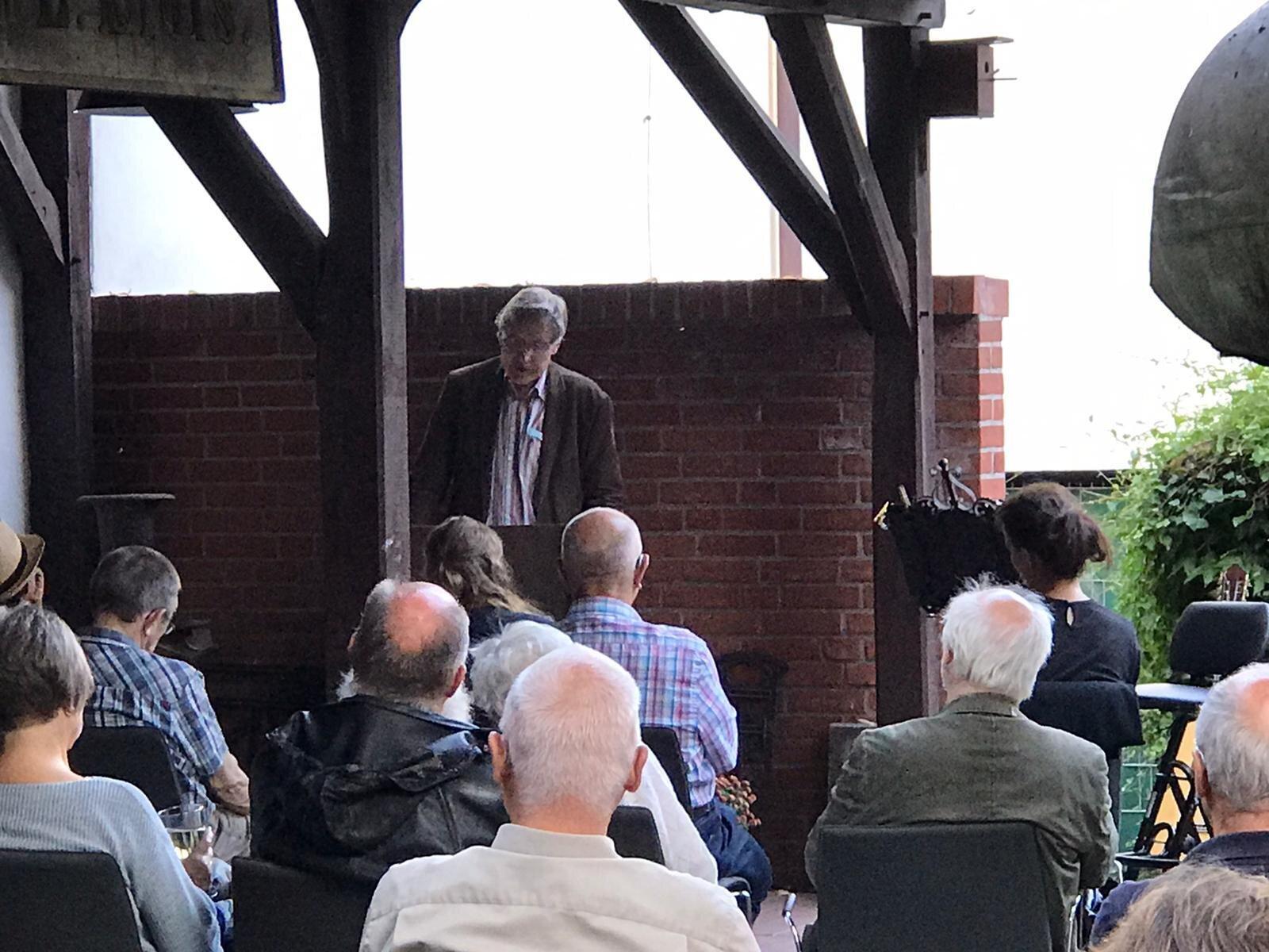 Vortrag Dr. Bertram von der Stein / Foto: Stadt Perleberg