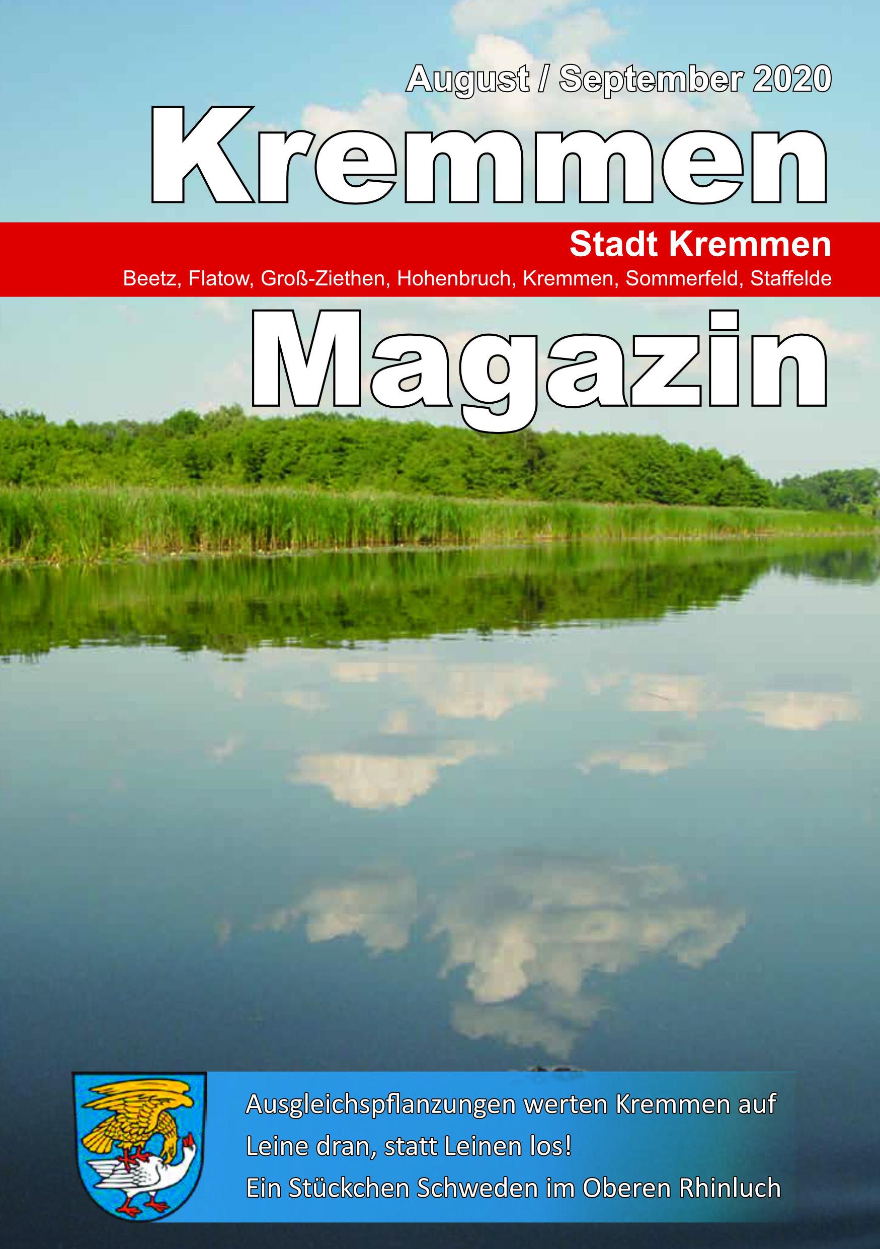 Kremmen Magazin 04/2020
