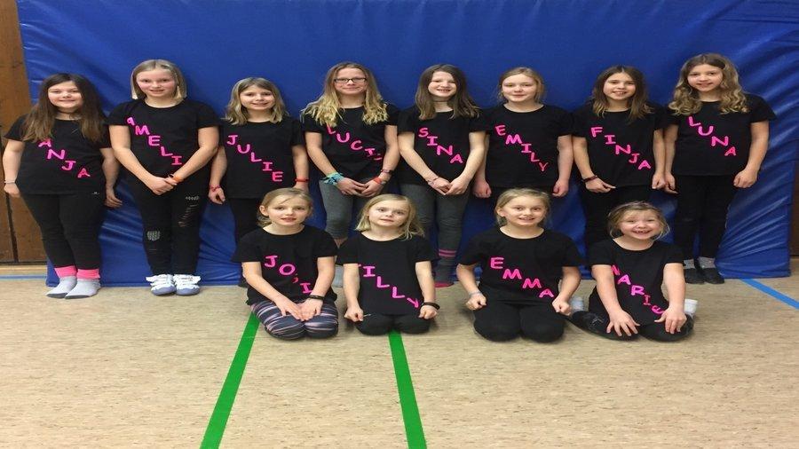 Dance for Kids Gruppe Namen